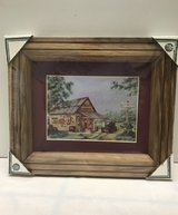 Old Time Garage Wood Frame Picture in Elizabethtown, Kentucky