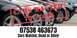 cars wanted dead or alive in Lakenheath, UK