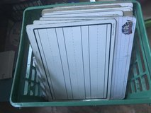 30 whiteboards ( sturdy hardback) with storage crate in Kingwood, Texas
