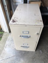 Two Drawer Fire Proof Filing Cabinet Top Drawer Locks Very Heavy in Fort Knox, Kentucky