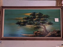 Painting, Large 2x4 framed textured. in 29 Palms, California
