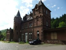 Living in an castle in Spangdahlem, Germany