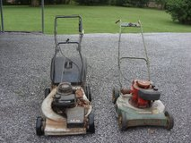 two mowers in Fort Knox, Kentucky