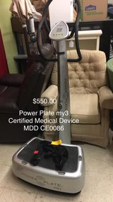 Power Plate My3 Certified Medical Device MMD CE0086 in Fort Leonard Wood, Missouri