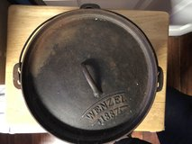 Cast Iron Wenzel 1887 Dutch Oven in Fort Knox, Kentucky