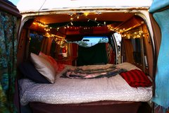 Retro Cool 1992 Ford E250 Camper Van conversion in 29 Palms, California