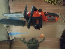 Brand new black and decker chain saw in Baytown, Texas