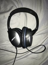 Noise cancelling Bose headphones in Ramstein, Germany