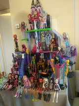 Monster High Ghouls w/Catacomb in Houston, Texas