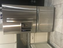 Stainless steel refrigerator in Conroe, Texas