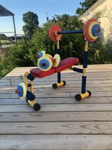 Redmon fun and fitness childrens weight bench and dumbbells in Fort Leonard Wood, Missouri