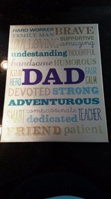 """Wall Decor """"Dad"""" NEW in Chicago, Illinois"""