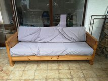 Large wood couch in Stuttgart, GE