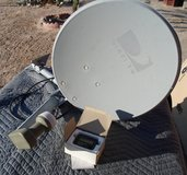 direct tv satellitedish with satellite finder in 29 Palms, California