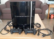 PlayStation3 with 2 wirelesses remounts 110 volts in Wiesbaden, GE