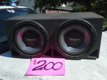 Kenwood, car audio, Sub woofers in Kingwood, Texas