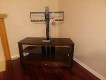 Flat panel TV stand in Westmont, Illinois