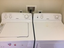 Gas Powered Washer and Dryer in Camp Pendleton, California