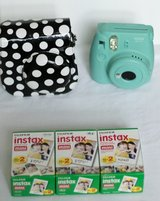 Poloaroid Instax Mini 8 with Case and 60 Sheets of Film in Kingwood, Texas