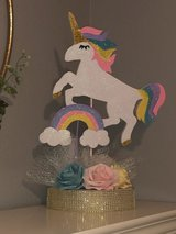 Unicorn centerpiece decoration (party) in Bellaire, Texas