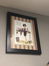 Laundry room decor in Bellaire, Texas