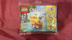 Lego #30571 Creator 3 in 1 Pelican Polybag NEW in Oswego, Illinois