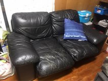 two person leather couch in Okinawa, Japan