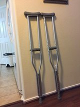 Pair of Crutches in Kingwood, Texas