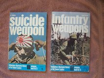 Military Books:  (1) Suicide Weapon and (2) Infantry Weapons in Grafenwoehr, GE