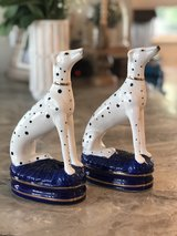 Pair of Vintage Fitz & Floyd Dalmatian Bookends in Fort Campbell, Kentucky