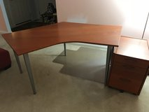 IKEA DEsk and Filing Cabinet in Westmont, Illinois