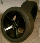 20 inch rims and tires set in Fort Campbell, Kentucky