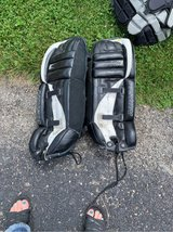 """28"""" old goalie pads in St. Charles, Illinois"""