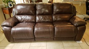 Leather couch in Kingwood, Texas