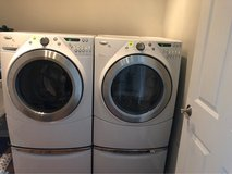 Whirlpool Duet Steam front loader washer and dryer set in Chicago, Illinois