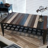 Pallet Wood and Metal Table in Westmont, Illinois