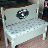 Twin Size Headboard Bench in Naperville, Illinois