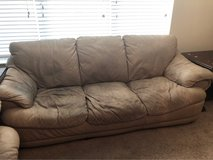 Leather Couch-reduced! in Kingwood, Texas