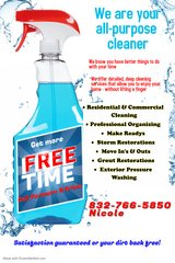 Residential cleaning/Organizing/Make Readies & more in Kingwood, Texas