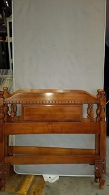2 Twin (long)  headboards , frames and mattress bases in Elgin, Illinois