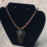 "handmade beaded elephant pendant 19""+ necklace in Warner Robins, Georgia"