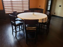 Dining room set in Fort Campbell, Kentucky