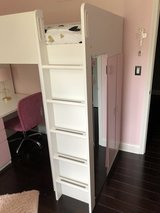 Loft Bed with desk, bookshelf and armoire in Westmont, Illinois