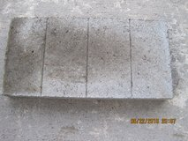 "RECTANGLE GRAY CONCRETE PATIO STONES 8"" X 16"" in Fort Campbell, Kentucky"
