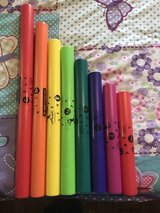 Set of Boomwhackers musical instruments in Perry, Georgia