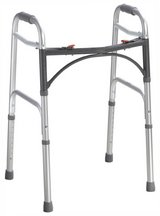 Drive Deluxe Folding Walker, Two Button in Oswego, Illinois