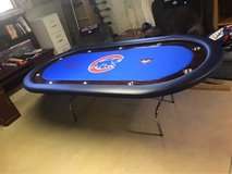 Cubs Poker Table! in Tinley Park, Illinois