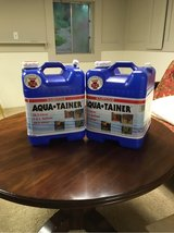 Two AquaTainer 7G Water Jugs in Westmont, Illinois