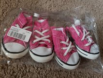 New Pink Dog Shoes Medium in Perry, Georgia