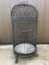 BIRD CAGE/ WROUGHT IRON/ LARGE in Fort Campbell, Kentucky